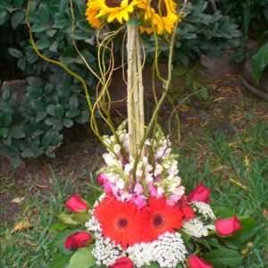 E19 - Arreglo redondo de flores